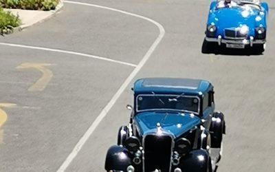 Vintage Car Run through Vonke